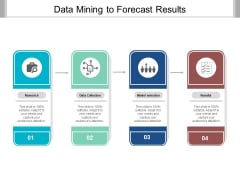 Data Mining To Forecast Results Ppt PowerPoint Presentation Ideas Inspiration