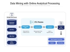 Data Mining With Online Analytical Processing Ppt PowerPoint Presentation Inspiration