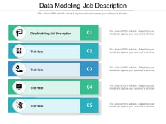 Data Modeling Job Description Ppt PowerPoint Presentation File Vector Cpb Pdf
