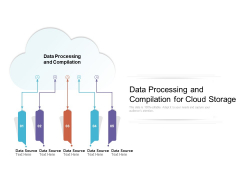 Data Processing And Compilation For Cloud Storage Ppt PowerPoint Presentation File Demonstration PDF