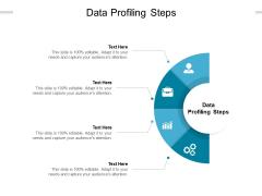 Data Profiling Steps Ppt PowerPoint Presentation Summary Format Ideas Cpb Pdf