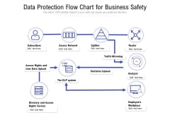 Data Protection Flow Chart For Business Safety Ppt PowerPoint Presentation Icon Example File PDF