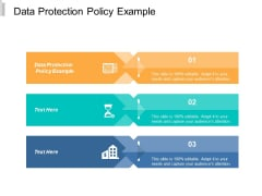 Data Protection Policy Example Ppt Powerpoint Presentation Outline Templates Cpb