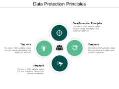 Data Protection Principles Ppt PowerPoint Presentation Styles Good Cpb