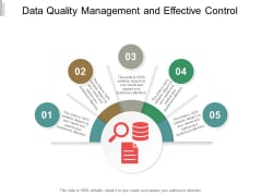 Data Quality Management And Effective Control Ppt PowerPoint Presentation Icon Samples