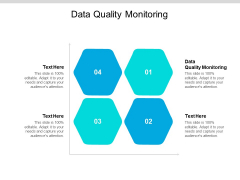 Data Quality Monitoring Ppt PowerPoint Presentation Ideas Outline Cpb