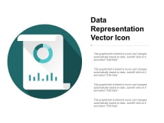 Data Representation Vector Icon Ppt PowerPoint Presentation Infographic Template Samples