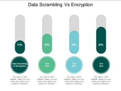Data Scrambling Vs Encryption Ppt PowerPoint Presentation Professional Graphics Download Cpb