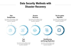 Data Security Methods With Disaster Recovery Ppt PowerPoint Presentation Pictures Vector