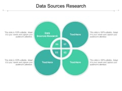 Data Sources Research Ppt PowerPoint Presentation Inspiration Slides Cpb Pdf