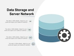 Data Storage And Server Network Ppt Powerpoint Presentation Icon Design Inspiration