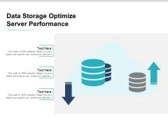 Data Storage Optimize Server Performance Ppt Powerpoint Presentation Infographics Inspiration