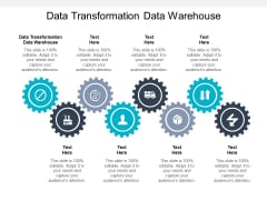 Data Transformation Data Warehouse Ppt PowerPoint Presentation Model Graphics Download Cpb