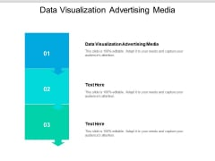 Data Visualization Advertising Media Ppt PowerPoint Presentation Visual Aids Outline Cpb