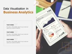 Data Visualization In Business Analytics Ppt PowerPoint Presentation Portfolio File Formats