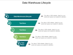 Data Warehouse Lifecycle Ppt PowerPoint Presentation File Templates Cpb