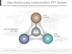 Data Warehousing Implementation Ppt Sample