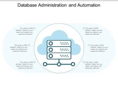 Database Administration And Automation Ppt Powerpoint Presentation Portfolio Images
