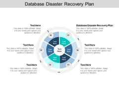 Database Disaster Recovery Plan Ppt PowerPoint Presentation Inspiration Show Cpb