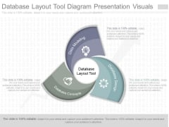 Database Layout Tool Diagram Presentation Visuals