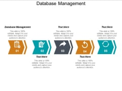 Database Management Ppt PowerPoint Presentation Icon Styles Cpb