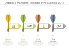 Database Marketing Template Ppt Example 2015
