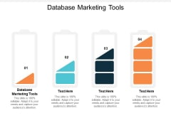 Database Marketing Tools Ppt PowerPoint Presentation Outline Guidelines Cpb