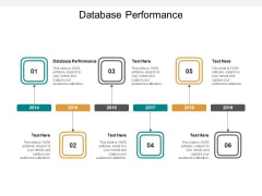 Database Performance Ppt PowerPoint Presentation Gallery Smartart Cpb