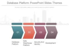 Database Platform Powerpoint Slides Themes