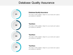 Database Quality Assurance Ppt PowerPoint Presentation Gallery Aids Cpb