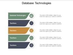 Database Technologies Ppt PowerPoint Presentation Slides Show Cpb