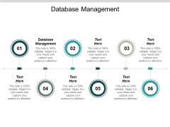 Databases Management Ppt PowerPoint Presentation Slides Portfolio Cpb