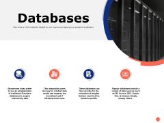 Databases Marketing Ppt PowerPoint Presentation Slides Layout