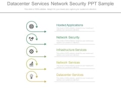 Datacenter Services Network Security Ppt Sample