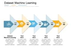 Dataset Machine Learning Ppt PowerPoint Presentation Icon Design Ideas Cpb