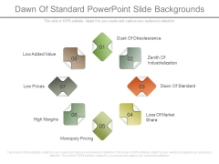 Dawn Of Standard Powerpoint Slide Backgrounds