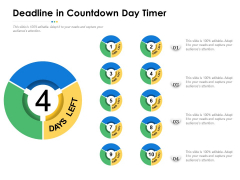 Deadline In Countdown Day Timer Ppt PowerPoint Presentation Gallery Influencers PDF