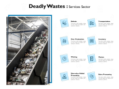 deadly wastes services sector ppt powerpoint presentation influencers
