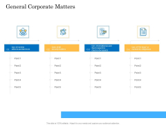 Deal Assessment Audit Process General Corporate Matters Guidelines PDF
