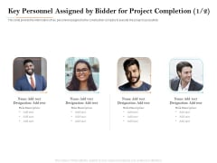 Deal Assessment Key Personnel Assigned By Bidder For Project Completion Designation Introduction PDF