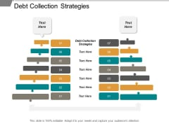 Debt Collection Strategies Ppt PowerPoint Presentation Visual Aids Slides