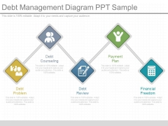 Debt Management Diagram Ppt Sample