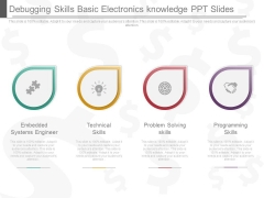 Debugging Skills Basic Electronics Knowledge Ppt Slides
