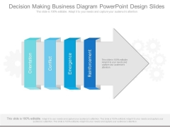Decision Making Business Diagram Powerpoint Design Slides