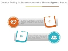 Decision Making Guidelines Powerpoint Slide Background Picture