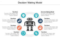 Decision Making Model Ppt PowerPoint Presentation Ideas Example Cpb