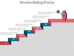 Decision Making Process Ppt PowerPoint Presentation Examples