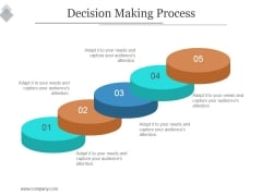 Decision Making Process Ppt PowerPoint Presentation Inspiration