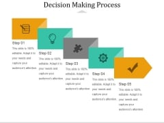 Decision Making Process Ppt PowerPoint Presentation Summary Display