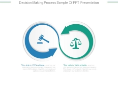 Decision Making Process Sample Of Ppt Presentation